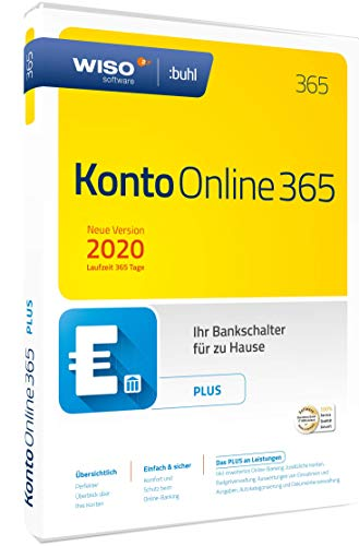 WISO Konto Online Plus 365 (aktuelle Version 2020) (WISO Software)