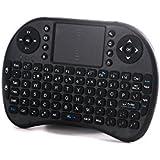 Mini tastiera senza fili e tastiera 2.4G Touchpad Mouse combo- Multimedia Tastiera Android Android per Android Smart TV BOX