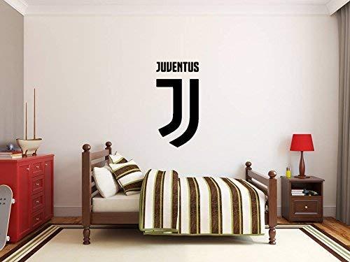 XXL Juventus FC Wandaufkleber Art Deco Raumdekoration Jungs Fußballmannschaft Logo-Zeichen Gratis Auto Aufkleber Kamm Fußball Aufkleber Abzeichen Serie A