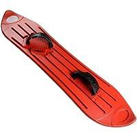 Red Plastic Snowboard Fun Snow Winter Sport Sledge Boarding Adult/Children 8+