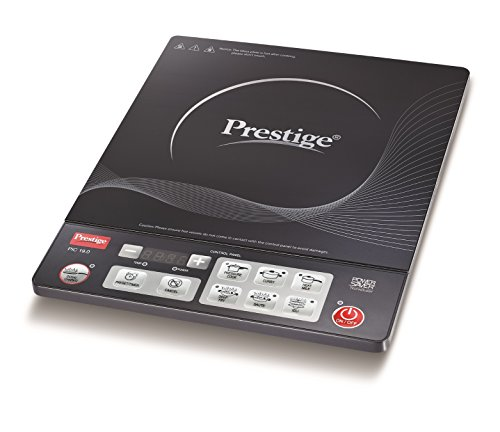 Prestige PIC 19.0 1600-Watt Induction Cooktop with Push Button (Black)
