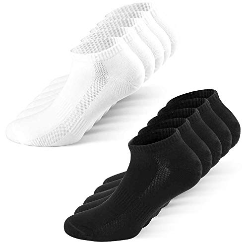 YouShow Calcetines Hombre Mujer 10 Pares Deporte Algodón