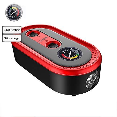 Tragbare Auto-Luftpumpe-Elektrischer Notfallreifen-Reparatur-Satz, Mini Mechanische Handheld-Multifunktionsauto-Reifen-Pumpe, Einfach Zu Speichern