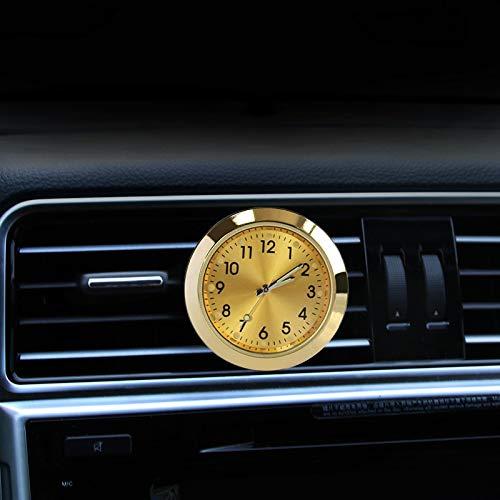 kgftdk Auto Armaturenbrett Dekoration Universal 2 In 1 Auto Armaturenbrett Uhr Öl Parfüm Auto Air Vent Aromatherapie Uhr Auto Interior Vent Uhr Mit Clip Geschmack -