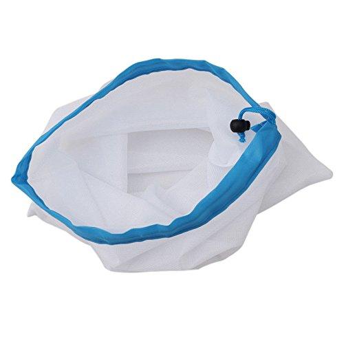 Preisvergleich Produktbild LaDicha 5X Wieder Verwendbare Mesh-Tasche Für Lebensmittel Einkaufen Obst Gemüse Spielzeug Lagerung Produzieren Tasche - Rot