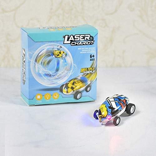 YINmiaomiao Mini Voiture Mini Jouet de Voiture de Voiture de Laser de Chariot de Laser de véhicule à Haute Vitesse pour des  s,Blue | D'arrivée Nouvelle Arrivée