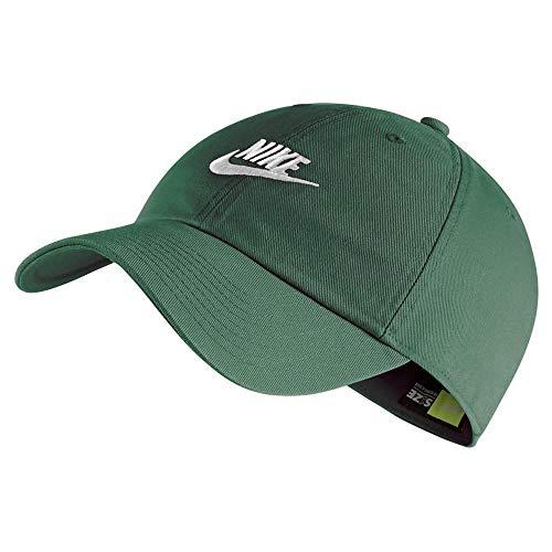 Nike U NSW H86 Futura Washed Hat, fir/White, One Size