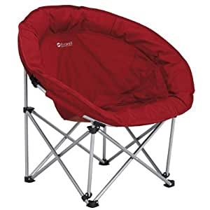 OUTWELL COMFORT CHAIR OUTDOOR CAMPING FOLDING MOON RED