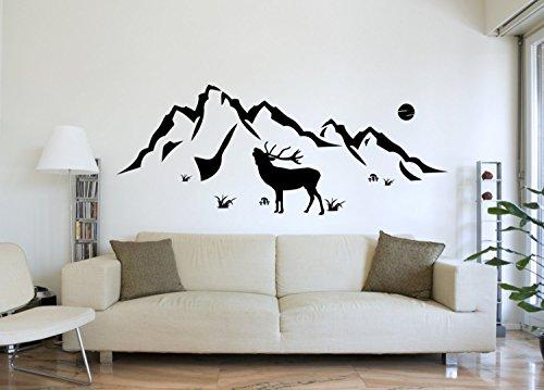wandtattoo-wandgestaltung-aufkleber-natur-berge-hirsch-motiv-516-in-bester-qualitat-aus-markenfolie-