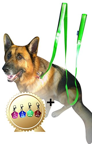 lead-dog-25m-green-dog-leads-long-double-handle-lead-for-large-dogs-bonus-dog-tag-extra-long-dog-lea