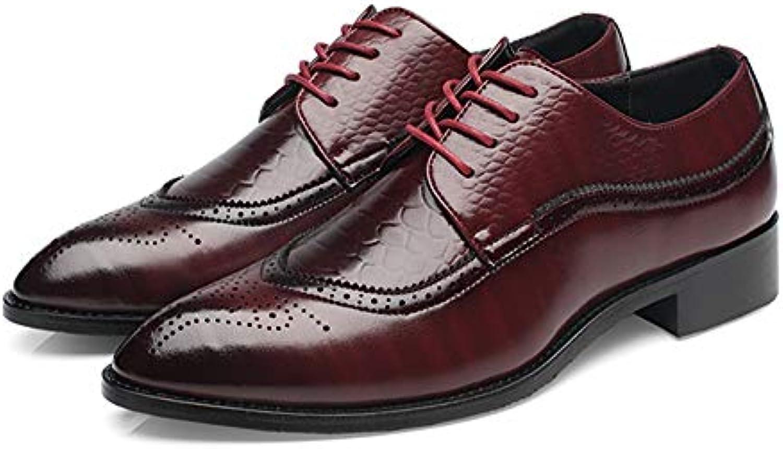 0d1fbee6a2186e les jeunes hommes orteil chaussures oxford étiquette dentelle dentelle  dentelle robe perforées leahter chaussures b07g5kbpbv parent | Bonne  Conception ...
