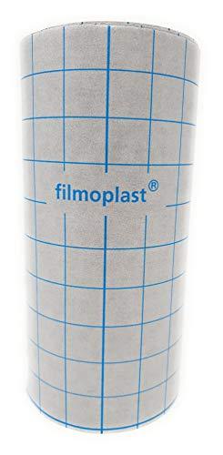 Filmoplast Gunold 20cm x 25 Meter Rolle Selbstklebend Stickvlies Vlies (Schwarz) -