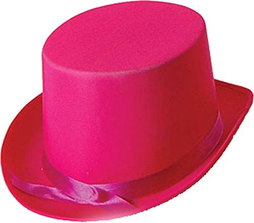Erwachsene Unisex Junggesellinnenabschied Kostüm Party Club Kleidung Zubehör Promi Zylinder - Rosa, Einheitsgröße, Einheitsgröße