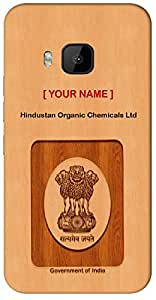 "Aakrti Mobile Back cover with your Dept: Hindustan Organic Chemicals Ltd.Your ID with Government Logo With "" Your Name "" Printed on your Smart Phone : Samsung Galaxy-S-6-EDGE-PLUS"