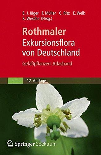 Exkursionsflora von Deutschland: Gefasspflanzen: Atlasband