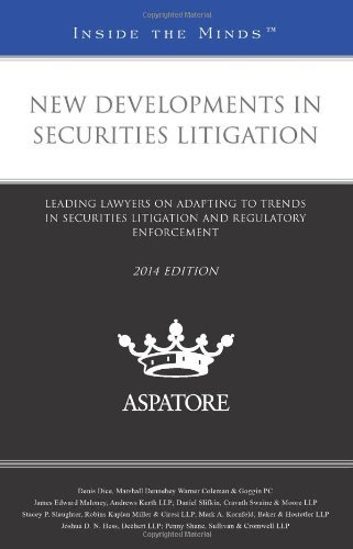 new-developments-in-securities-litigation-2014-ed-leading-lawyers-on-adapting-to-trends-in-securitie