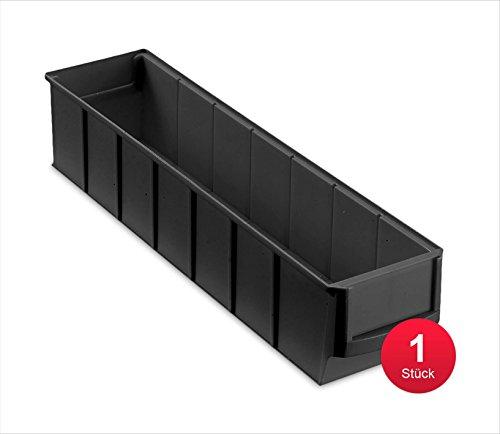 Preisvergleich Produktbild Industriebox 400 S leitfähig, 400x91x81mm, 1 St., schwarz