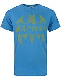 Junk Food Batman Crackle Logo Men's T-Shirt