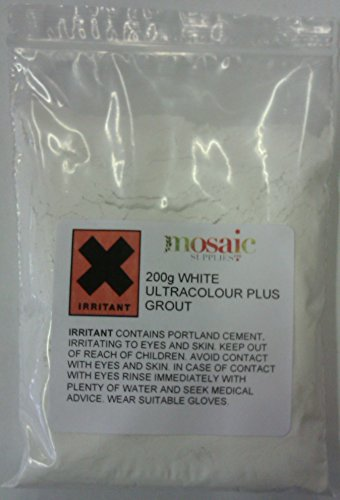 White Mosaic Grout 200g