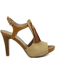 Chanclas Amazon Zapatos Camel Para esSandalias Y EIYWDH92
