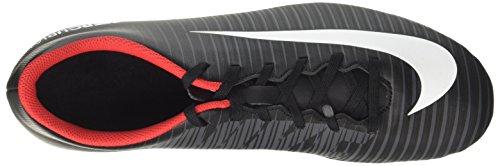 Nike Herren Mercurial Vortex Iii Fg Fußballschuhe Schwarz (Noir/gris Foncé/blanc)