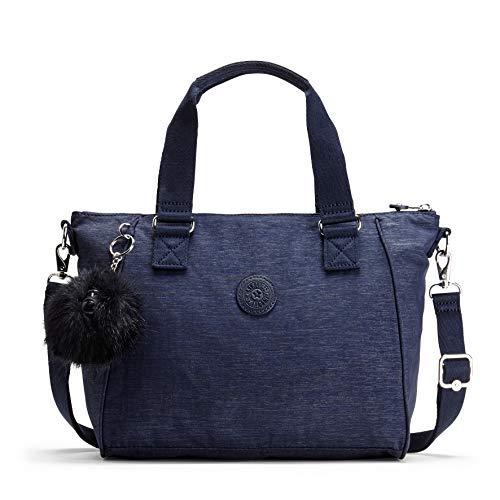 Kipling - Amiel, Bolsos maletín Mujer, Azul (Spark Night), 14.5x27x24.5 cm (B...