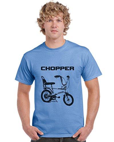 Raleigh Chopper T-shirt, Blue or Orange