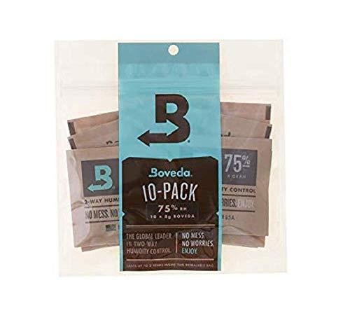 Bóveda Humidipak 8 grammi, di medie dimensioni, il controllo dell'umidità due vie, il 75% di umidità relativa, quantità di dieci