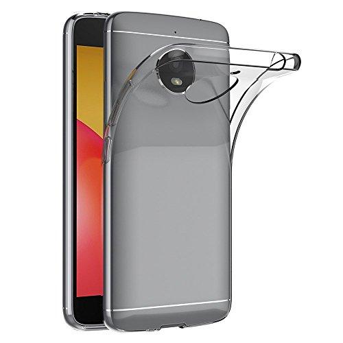 MaiJin Hülle für Motorola Moto E4 Plus (5,5 Zoll) Crystal Clear Durchsichtige Backcover Handyhülle TPU Case