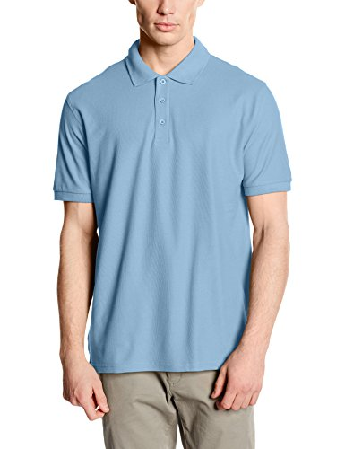 Fruit of the Loom Herren Poloshirt Blue (Sky Blue)