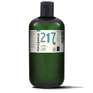 Naissance Huile Végétale de Ricin Pressée à Froid - Certifiée BIO- 1 Litre - vegan, sans hexane, sans OGM nourrit et hydrate cils, sourcils et cheveux