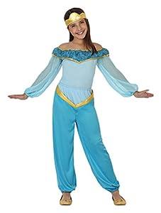 Atosa - Disfraz de princesa árabe, talla M, 5-6 años (111-26414)
