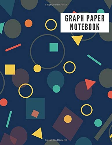 GRAPH PAPER NOTEBOOK: 4x4 Shapes Graph Composition Notebook