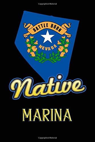 Nevada Native Marina: College Ruled | Composition Book (Party City Marina)