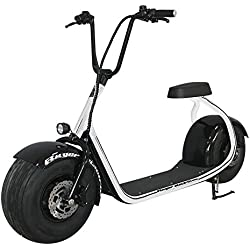 RUGER ELECTRIC - Patinete eléctrico chopper - Blanco/Negro
