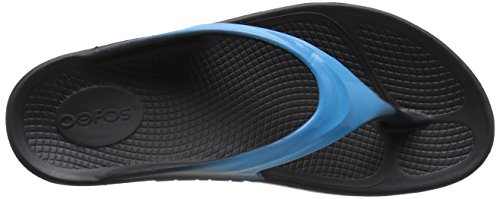 OOFOS Oolala, Sandales de Sport Femme Bleu (Bermuda Blue)