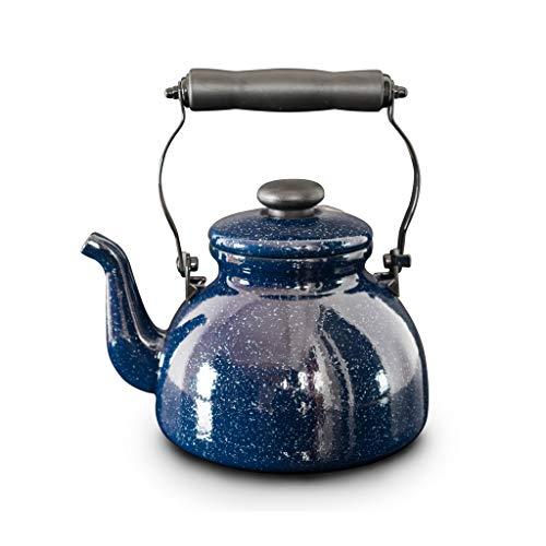 2l pentola a smalto spessa bollitore caffettiera a induzione fornello a gas a induzione dispositivo automatico per il suono