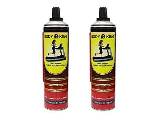 Healthex Body King Silicone Treadmill Lubricant 500ml (Pack of 2) || Treadmill Full Belt Lubrication