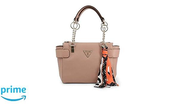 GUESS borsa a mano rosa con foulard VG740509 Durello