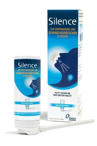 Silence Rachenspray, 50 Ml, 1er Pack (1 X 50 Ml)
