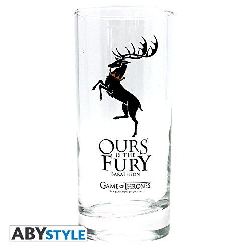 Game Of Thrones Baratheon Trink-Glas klar