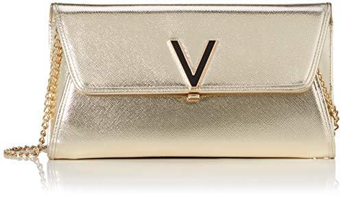 Mario Valentino Valentino by Damen Flash Clutch, Gold (ORO), 3x14x24 cm