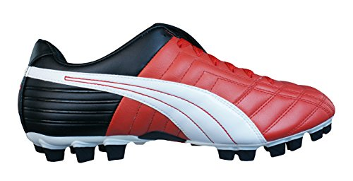 Puma Mestre GCi FG Mens Leather Football Boots Cleats-Red-11 5