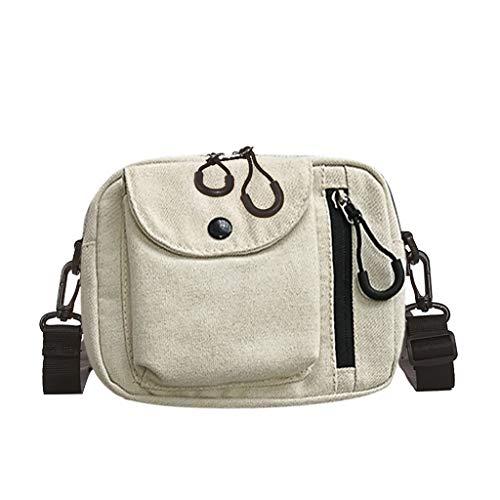Mitlfuny handbemalte Ledertasche, Schultertasche, Geschenk, Handgefertigte Tasche,Frauen-Segeltuch-Spassvogel-nette Kuriertasche-Umhängetasche kleine quadratische Tasche -
