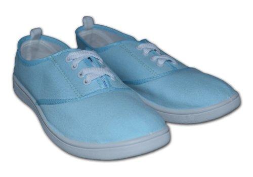 Red Tag , Chaussures de ville à lacets pour femme Bleu - Bleu ciel