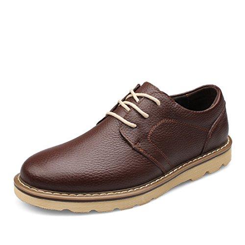 Axgwqra Ville Chaussures Minitoo De Pour Lacets À Lh6807 Lhus Café Homme TvvfOHRaxn