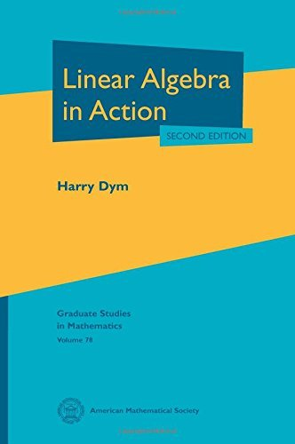 Free Linear Algebra In Action Graduate Studies In Mathematics By Harry Dym 2013 12 31 Pdf Download Paullorin