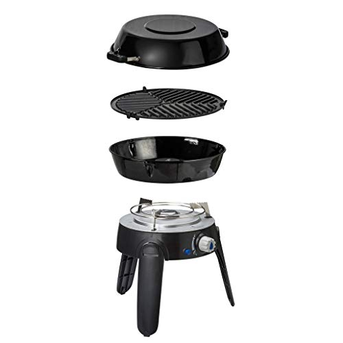 Cadac Gasgrill Safari Chef 2 Lite Outdoor Gas Camping Kocher 30 & 50 mBar - GreenGrill Keramikoberfläche 30 mBar