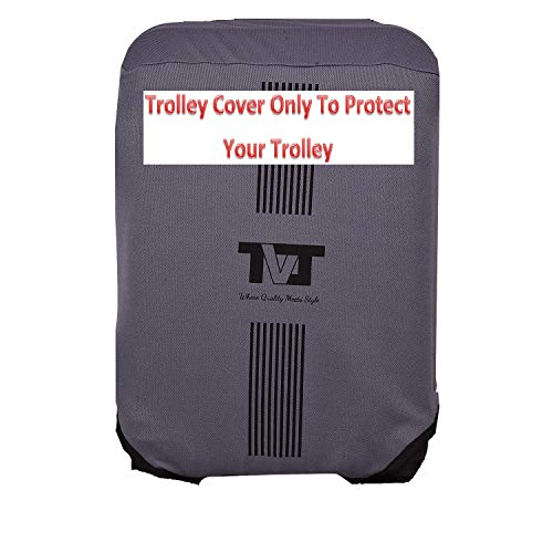 TVJ Branded Washable Protective Luggage Trolley Cover Made in India - Fits Trolley of 28 inches