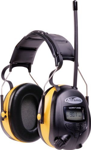 3M Digital WorkTunes AM-FM Stereo - 90541-00000 Thinsulate-muff
